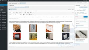 Админ-панель, редактирование записи